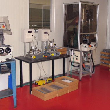 Reparto Test Pressione - Department Pressure Test
