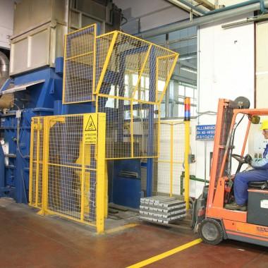 Forno Fusorio Alluminio - Aluminium Melting Furnace