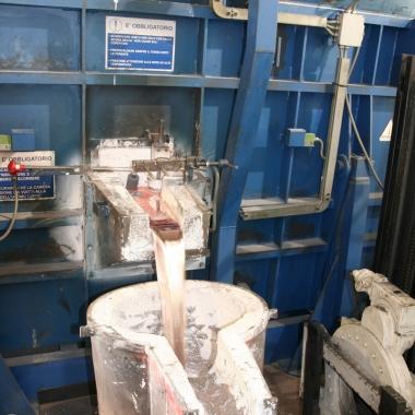 Spillaggio Alluminio - Aluminium Tap