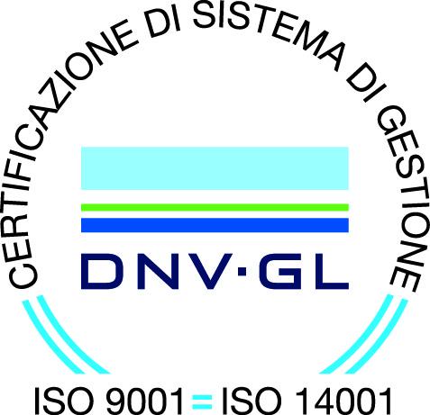 Azienda con sistema gestione qualità certificato da DNV ISO 9001